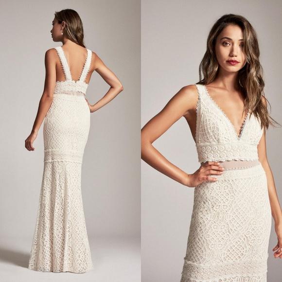 Tadashi Shoji Dresses | Wedding Dress Adrenna Gown 10 | Poshmark